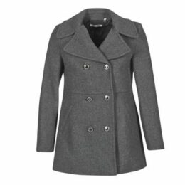 Naf Naf  ABIJOUX  women's Coat in Grey