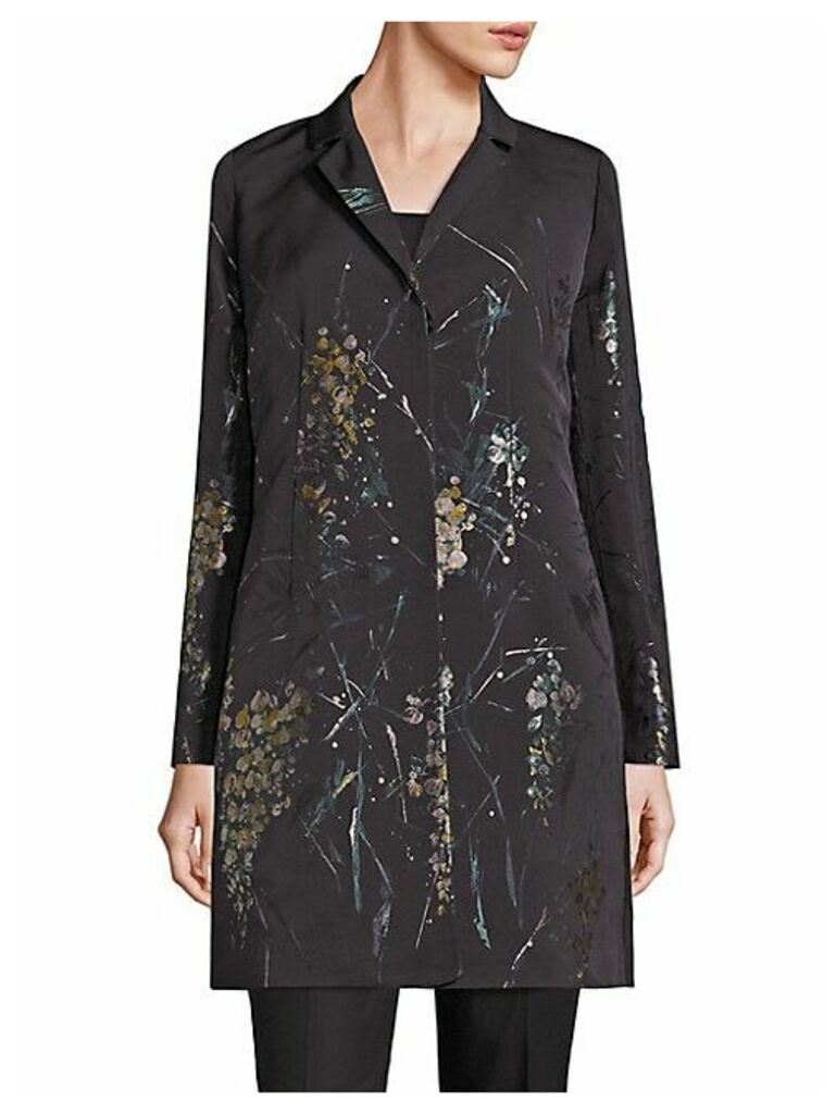 Guenever Floral Topper Coat