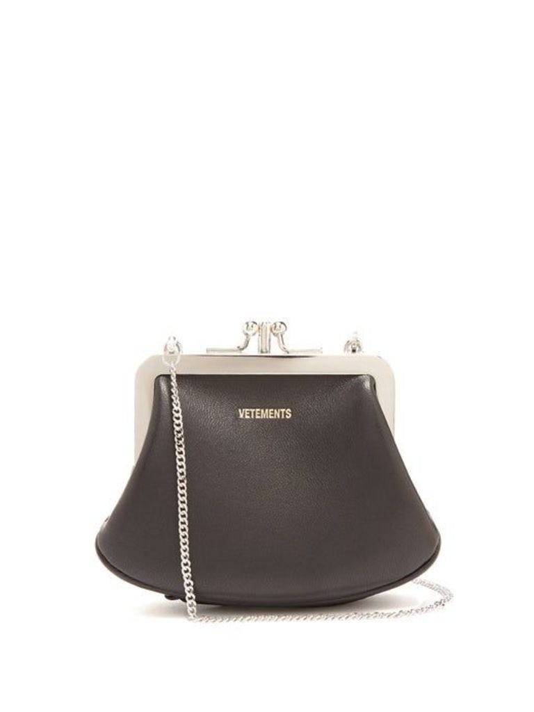Vetements - Granny Small Bag - Womens - Black