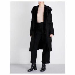 Joseph Ladies Black Toscana Shearling Coat