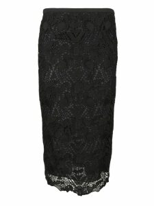 Rochas Lace Skirt