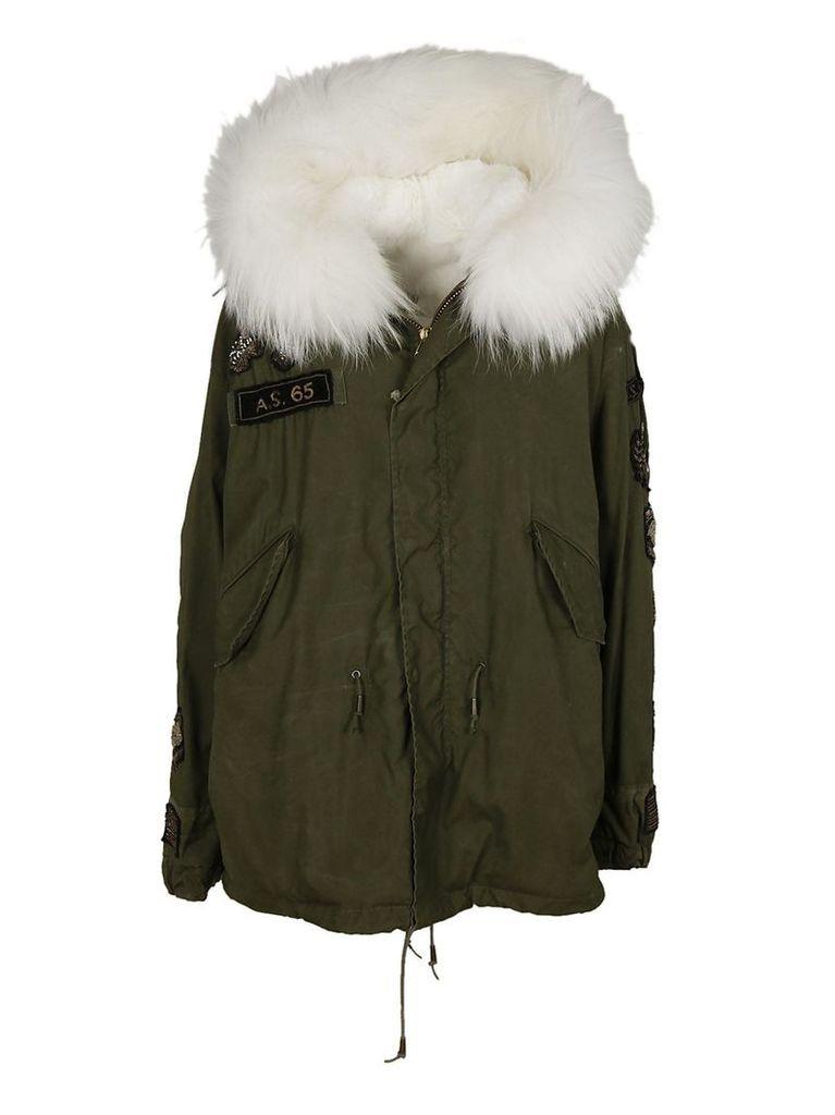 As65 Fur Trimmed Parka
