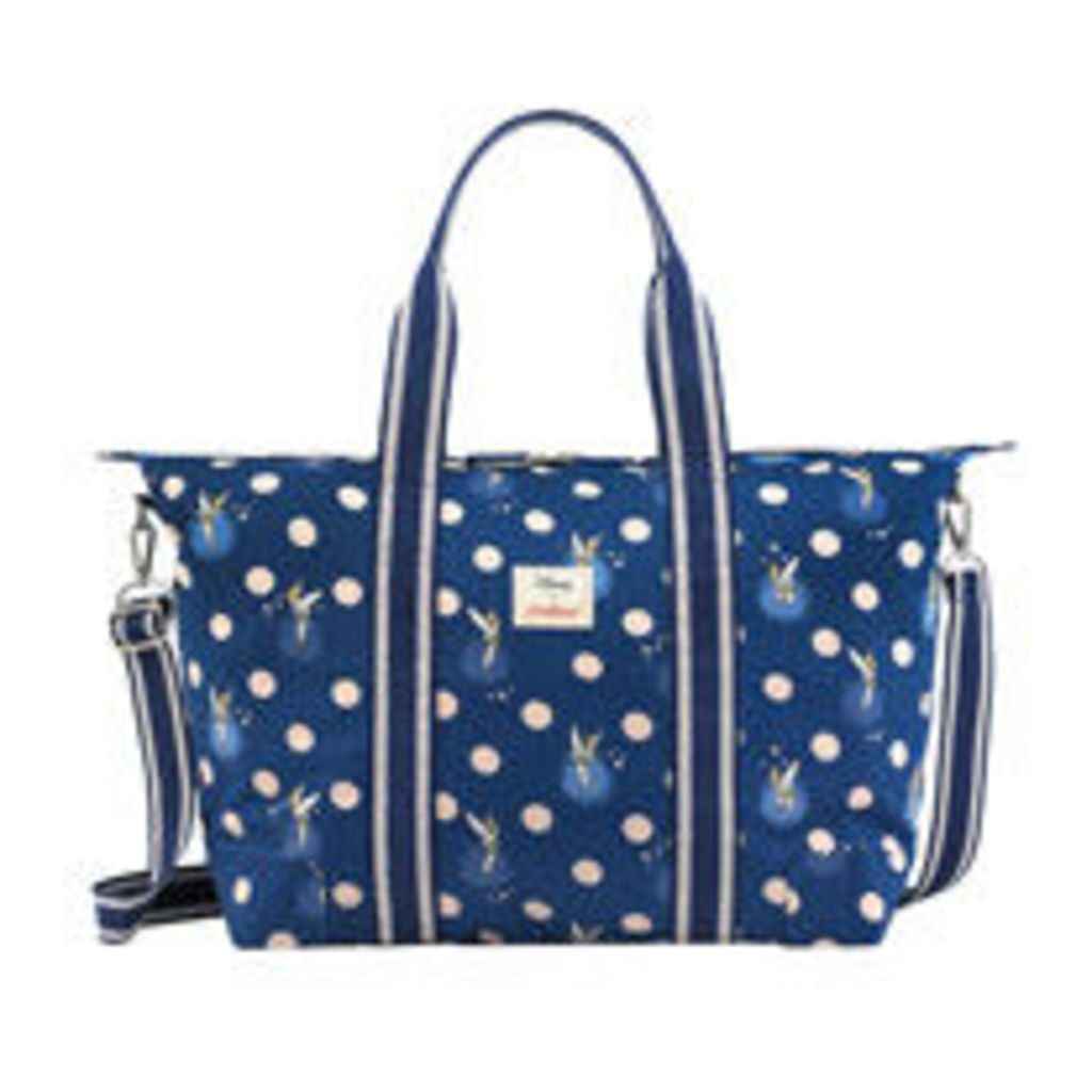 Tinker Bell Button Spot Foldaway Overnight Bag by Cath Kidston ... bfdb4ee761fab