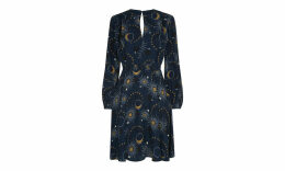 Ebony Galaxy Flippy Dress