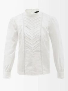 Roksanda - Rimini Origami Sleeved Embellished Coat - Womens - Black Multi