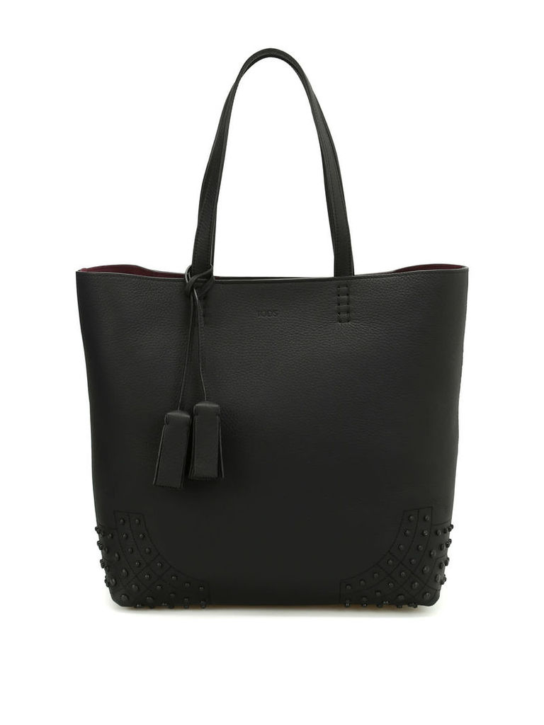 Tod's Wave Bag Medium Leather Tote