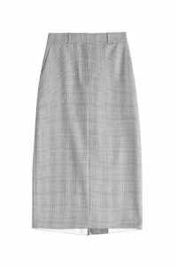 CALVIN KLEIN 205W39NYC Wool Pencil Skirt