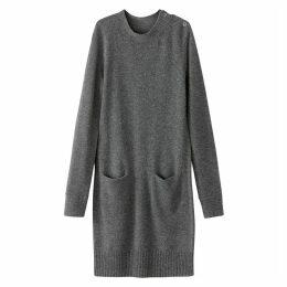 Wool Blend Jumper Dress