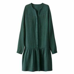 Loose Fit Cotton Dress