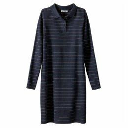Striped Polo Shirt Dress