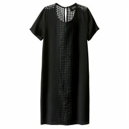 Dress with Openwork Embroidery