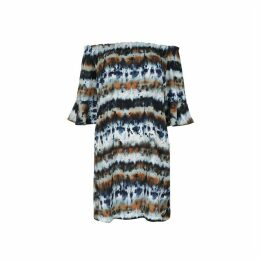 Tie-Dye Bardot Dress