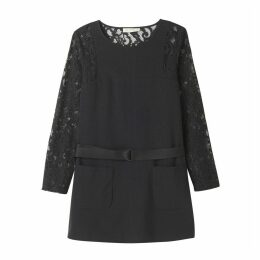Dress with Lace Detail