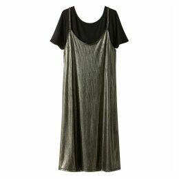 2 In 1 Cami Slip Dress