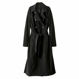 Draping Trench Coat