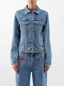 Giambattista Valli - Layered Ruffled Cotton Blend Macramé Lace Dress - Womens - Black