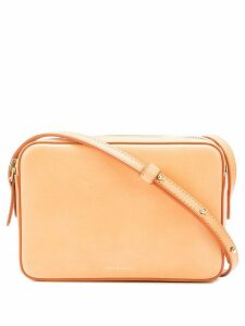 Mansur Gavriel Double Zip Crossbody - Neutrals