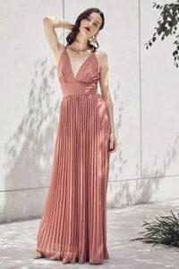 Halterneck Grecian Maxi Dress