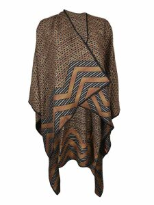 Missoni Intarsia Knit Cape