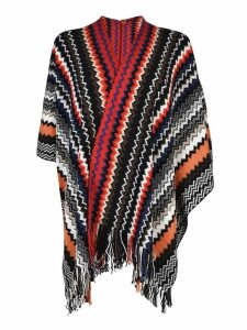 Missoni Fringed Detail Cape