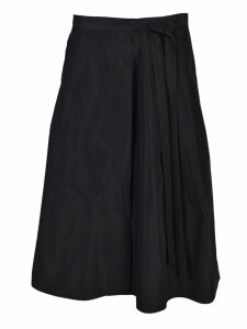 Jil Sander Woven Wide Faille Skirt
