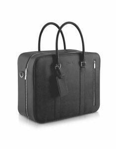 Pineider Designer Briefcases, City Chic - Double Handle Calfskin Briefcase