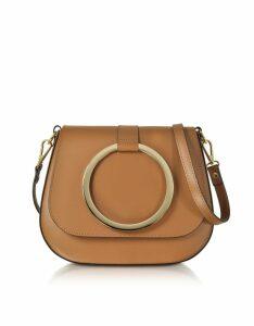 Gisèle 39 Designer Handbags, Smooth Leather Shoulder Bag