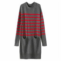 Breton Style Jumper Dress