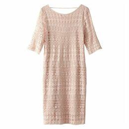 Openwork Lace Dress
