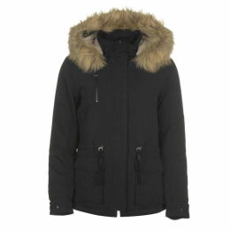Only Star Fur Parka