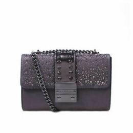 Carvela Kankan Jewel - Silver Shoulder Bag