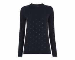 Star Printed Crew Neck