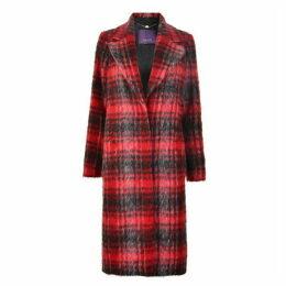 Laurel Check Coat