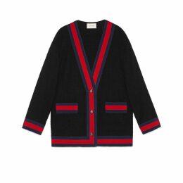 Tweed jacket with Web