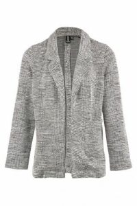 Checked Soft Tailored Blazer