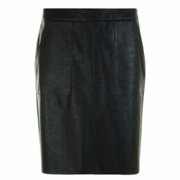 Boss Bliesy Leather Skirt