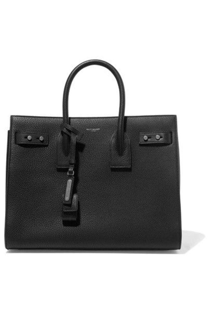 SAINT LAURENT - Sac De Jour Textured-leather Tote - Black