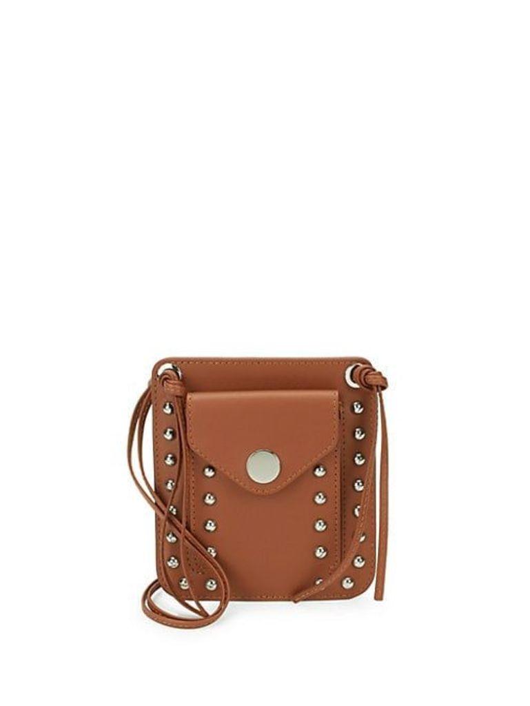 Dolly Pocket Leather Crossbody Bag