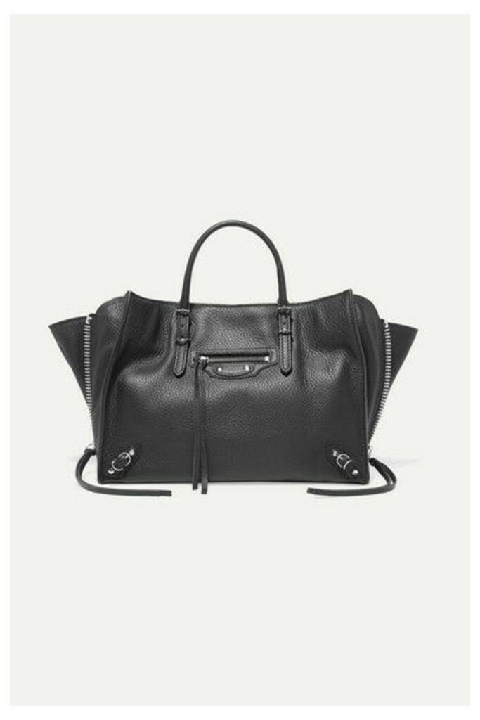Balenciaga - Papier A6 Small Textured-leather Tote - Black