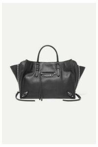 Balenciaga - Papier A6 Small Textured-leather Tote - Black