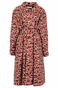 Marni Printed Nylon Trench Coat