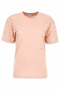 Stella McCartney Devoré Stars T-shirt