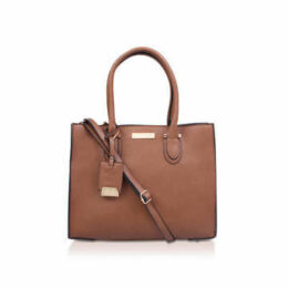 Carvela Robyn Structured Tote - Tan Tote Bag