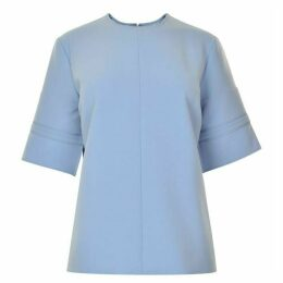 Victoria by Victoria Beckham Boxy Fit Stitch Top
