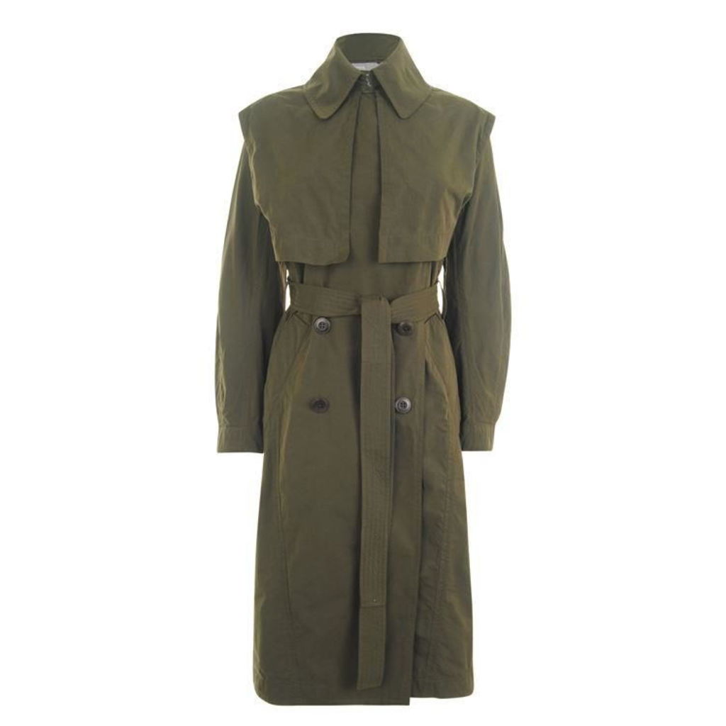 VINCE Oversized Trench Coat