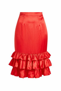 Maggie Marilyn Billi Mac Satin Skirt