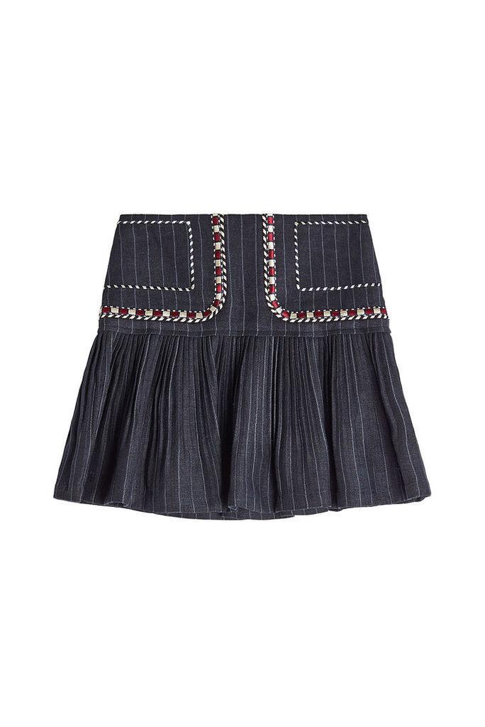 Isabel Marant toile Jessie Linen Skirt