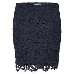 Only  FALDA  onlDORIS ANGLAISE SKIRT OTW  women's Skirt in Blue