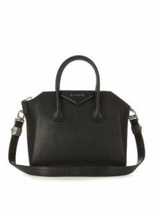 Givenchy - Antigona Small Leather Bag - Womens - Black