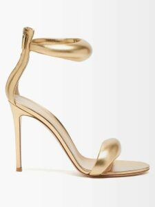 Casa Nata - Boatline Cotton Gauze Dress - Womens - Orange